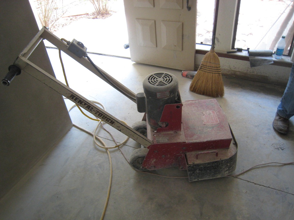 concrete sanding machine rental