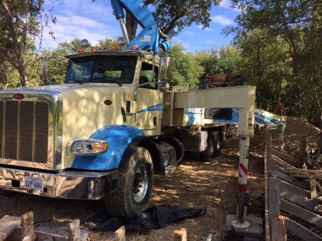 Pump Truck set up